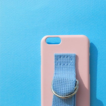 SECOND UNIQUE NAME iPhone・スマホケース 【日本未入荷】「SECOND UNIQUE NAME」 スマホケースPINK+L.BLUE(3)