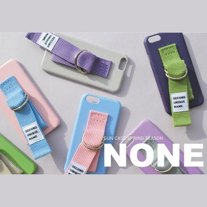 SECOND UNIQUE NAME iPhone・スマホケース 【日本未入荷】「SECOND UNIQUE NAME」 スマホケースPINK+L.BLUE(8)
