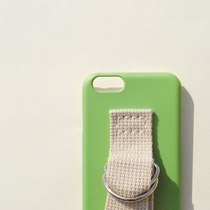 SECOND UNIQUE NAME iPhone・スマホケース 【日本未入荷】「SECOND UNIQUE NAME」 スマホケースGREEN+IVORY(3)