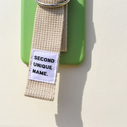 SECOND UNIQUE NAME iPhone・スマホケース 【日本未入荷】「SECOND UNIQUE NAME」 スマホケースGREEN+IVORY(4)
