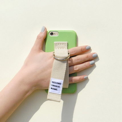 SECOND UNIQUE NAME iPhone・スマホケース 【日本未入荷】「SECOND UNIQUE NAME」 スマホケースGREEN+IVORY(5)