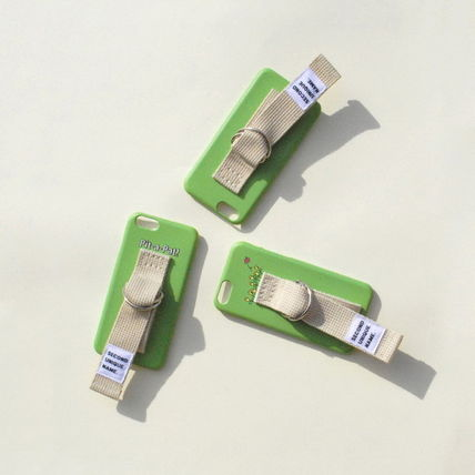 SECOND UNIQUE NAME iPhone・スマホケース 【日本未入荷】「SECOND UNIQUE NAME」 スマホケースGREEN+IVORY(7)