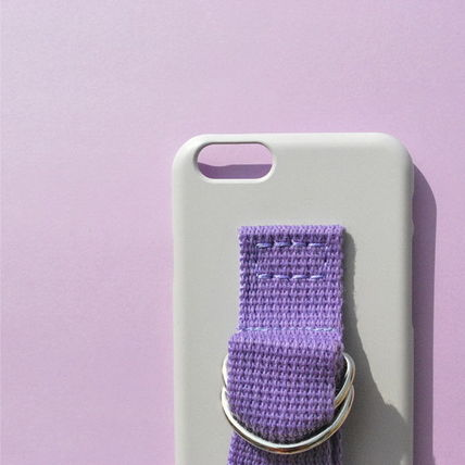 SECOND UNIQUE NAME iPhone・スマホケース 【日本未入荷】「SECOND UNIQUE NAME」 スマホケースGREY+PURPLE(3)