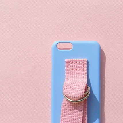 SECOND UNIQUE NAME iPhone・スマホケース 【日本未入荷】「SECOND UNIQUE NAME」 スマホケースBLUE+L.PINK(3)