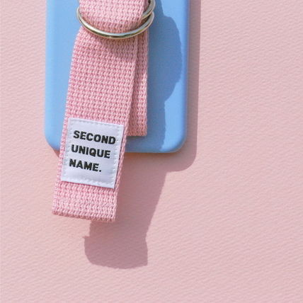 SECOND UNIQUE NAME iPhone・スマホケース 【日本未入荷】「SECOND UNIQUE NAME」 スマホケースBLUE+L.PINK(4)