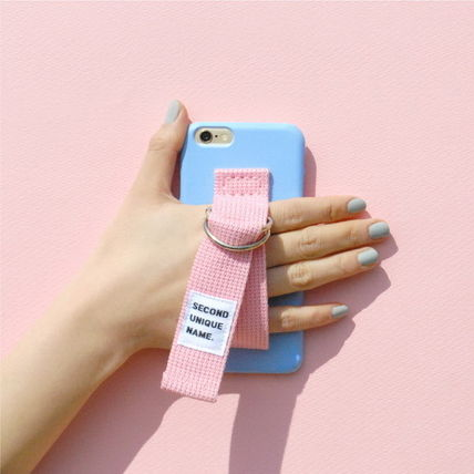 SECOND UNIQUE NAME iPhone・スマホケース 【日本未入荷】「SECOND UNIQUE NAME」 スマホケースBLUE+L.PINK(5)