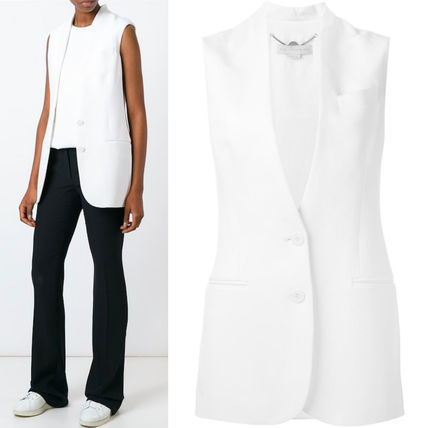 16SS SM212 STELLA McCARTNEY 'Ernest' sleeveless jacket