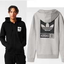 ADIDAS MEN'S ORIGINALS☆STREET GRAPHIC FULLZIP  トレフォイル