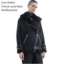ACNE Velocite suede black ベロサイト スエードブラック