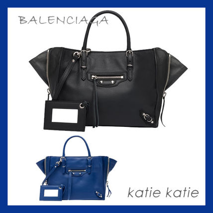 popular BALENCIAGA Mini Papier A4 Zip Around