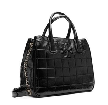 TORY BURCH Marion Quilted Patent Tote