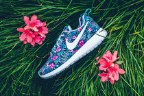 【送料無料】NIKE ROSHE ONE PRINT PREM - WASHED TEAL/WHITE