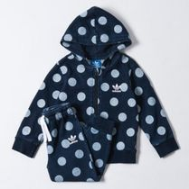 ADIDAS KIDS ORIGINALS☆DENIM DOT HOODIE フード  セットアップ