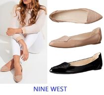 Nine West Snooze Patent Ballet Flat