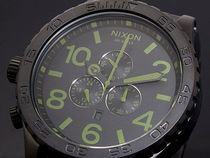 NIXON ニクソン 51-30 CHRONO A083-1042 MATTE BLACK SURPLUS