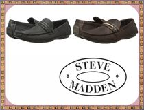 海外セレブ【STEVE MADDEN】Soft leather stylish★ローファー