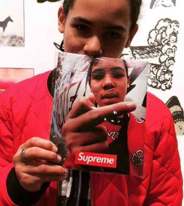 16S/S Supreme Photo Book Zine Paris オープン記念 写真集