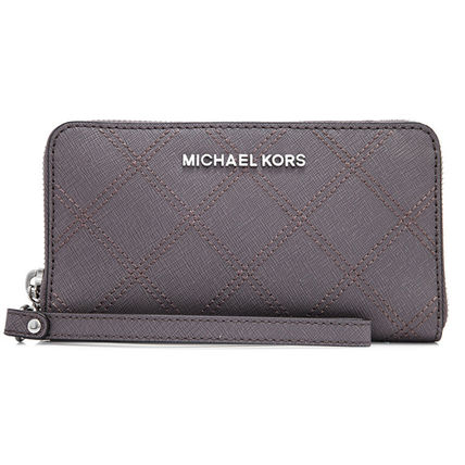 Michael Kors(マイケルコース)/長財布/zip wallet/iPhone slot