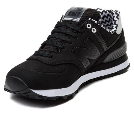 sold out inevitable allowed New Balance 574 Black / Chevron
