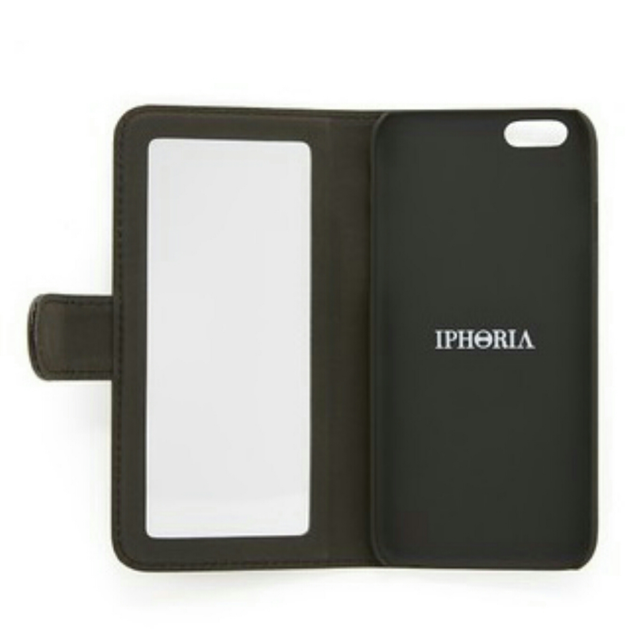 【国内発送】IPHORIA Book Case Mirror iPhone Case★ミラー付♪