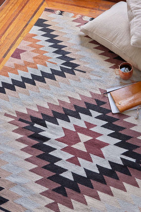 ★Urban Outfitters Magical Thinking Elmas Kilim Woven Rug★