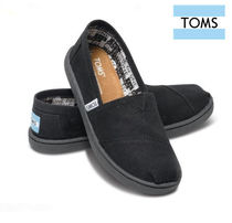 TOMS(トムス) キッズシューズ・靴その他 キッズ仕様♪LA直送 ◇◆TOMS◇◆Black Canvas Youth Classic