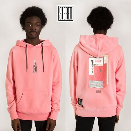 STEREO VINYLS COLLECTION★コカコーラーHoodie Pullover(PINK)