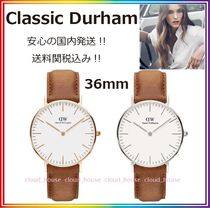 送料関税込【Daniel Wellington】Classic Durham 36mm♪国内発送