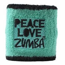 ☆ZUMBA・ズンバ☆PLZ 'Peace Love Zumba' Wristbands BL