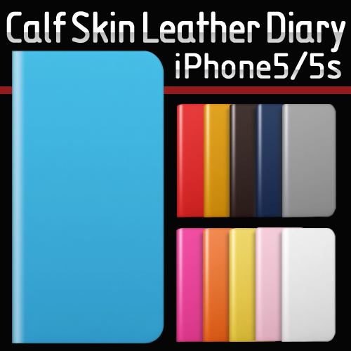 iPhone SE/5/5s ケース SLG Design D5 Calf Skin Leather Diary