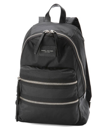 MARC BY MARC JACOBS backpack black NYLON BIKER