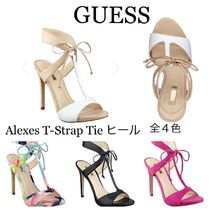 Guess☆期間限定セール☆Alexes T-Strap Tie ヒール(4色)