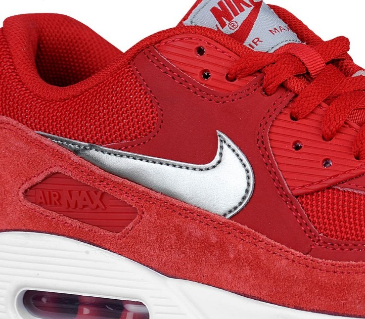 Sale!男のRed/Sliver ☆Nike☆ Men's Air Max 90 Essential
