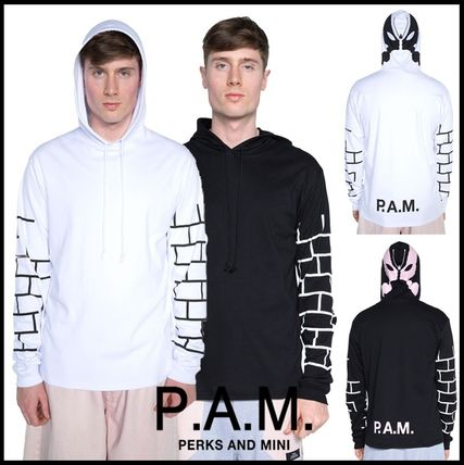 16SS!GD・クリス愛用【P.A.M.】グラフィックフード付きロンT