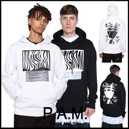 16SS!GD・クリス愛用【P.A.M.】バックグラフィックパーカー