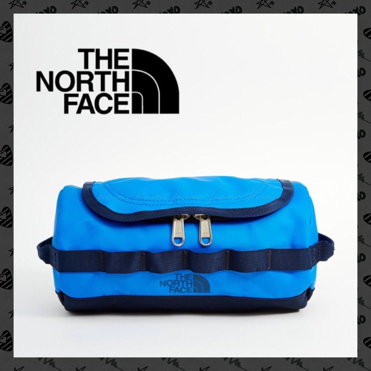 【関税&送料込】*THE NORTH FACE*新作* Wash Bag*Blue*