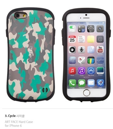 【日本未入荷】iFace ART FACE Military iPhone6/6S/6+ ケース☆