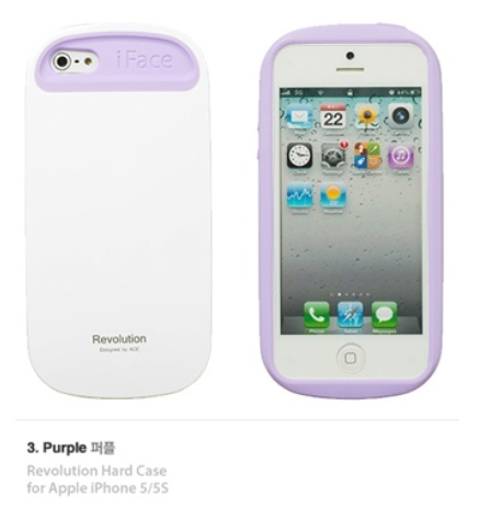 【日本未入荷】iFace Pastel(Revolution)iPhone5/5S ケース☆