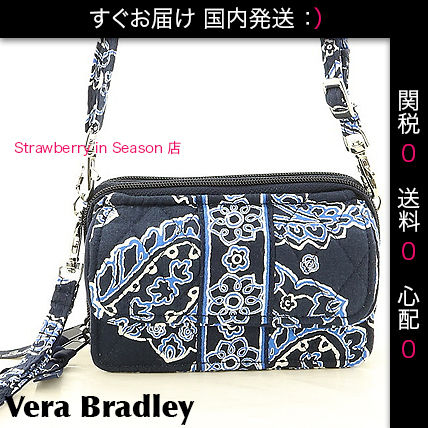 【国内発・関税送料0】身軽All in One Crossbody, Blue Bandana