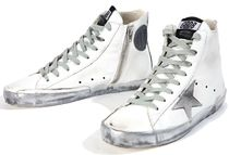 【関税負担】 Golden Goose 16SS FRANCY SPARKLE WHITE/SILVER