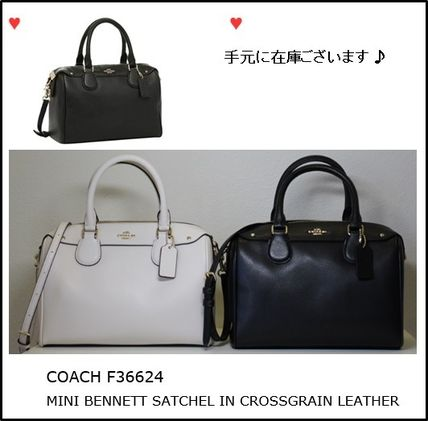 【COACH】MINI BENNETT SATCHEL 2WAYバック  2色 F36624