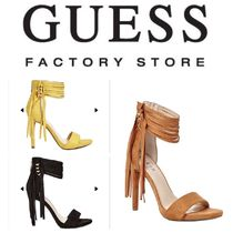 Guess Factory☆限定セール☆Cayce Fringe ヒール(3色)