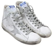 Golden Goose(ゴールデングース) スニーカー 【関税負担】GOLDEN GOOSE 16SS FRANCY WHITE SILVER LEATHER
