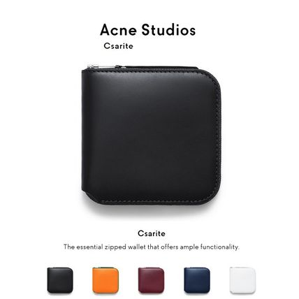 ACNE Csarite leather wallet