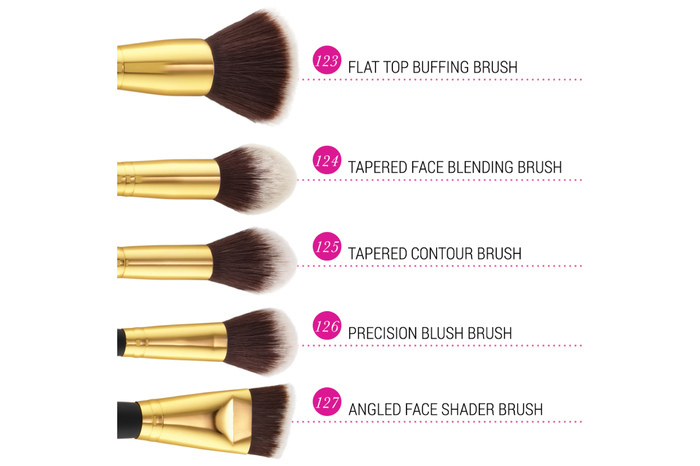 【bh cosmetic】ブラシ10本セットSculpt and Blend 2