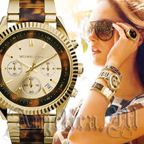 ★在庫即発★Michael Kors Clarkston Gold and Tortoise MK5963