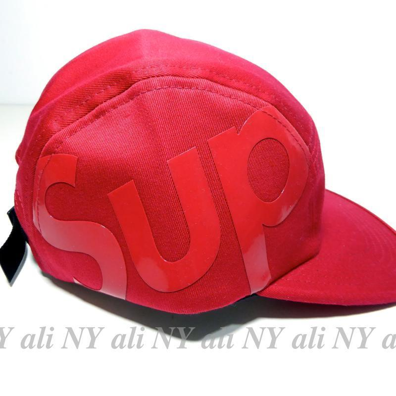 在庫有り★送料込み★FW15★Supreme Sup Camp Cap Red