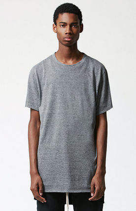 SS16 FOG FEAR OF GOD BASIC TRI-BLEND T-SHIRT GREY 送料無料