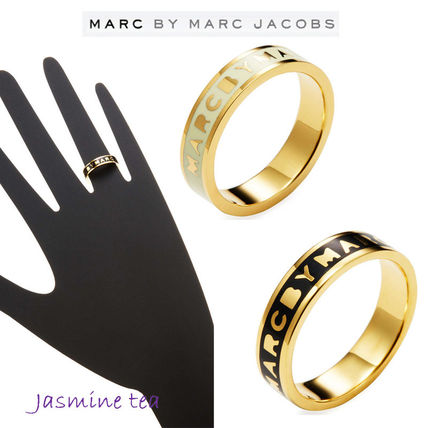 Marc by Marc Jacobs 指輪・リング ★新入荷★2色Marc by Marc Jacobs Tiny ロゴリング★