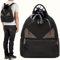 FE892 FENDI STUDDED BAG BUGS BACKPACK